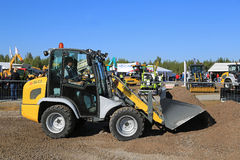 Kramer Allrad 350 Wheel Loader Moves Gravel Royalty Free Stock Photos