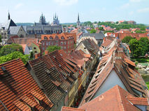 Kramerbrucke, Erfurt, Germany Royalty Free Stock Images