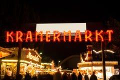 Kramermarkt in oldenburg Stock Photography