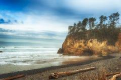 Krampunkt på den Oregon kusten Arkivbilder
