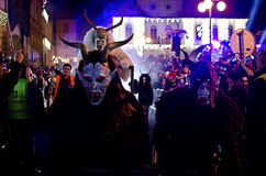 Krampus show Royalty Free Stock Images