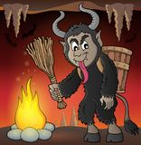 Krampus theme image 2 Stock Images