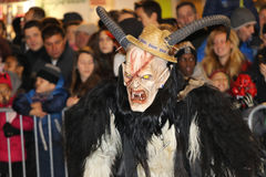 Krampuslauf in Graz Royalty Free Stock Photo