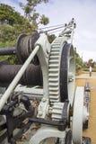 Kran auf Kakadu-Insel, Sydney Lizenzfreie Stockbilder