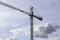 Kran construccion Lizenzfreie Stockbilder