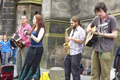 Krana festiwal Edinburgh obrazy royalty free