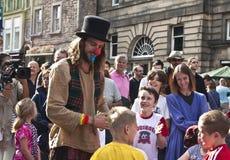 Krana festiwal Edinburgh zdjęcie royalty free