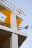 kranar för byggnadskonstruktion under Fotografering för Bildbyråer