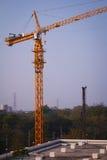 Kranenbouw Stock Afbeelding