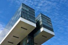 Kranhaus, arquitetura moderna, em Köln Foto de Stock
