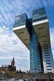 Kranhaus, moderne Architektur, bei Köln Stockbilder