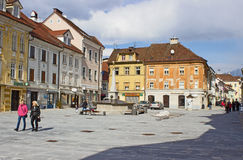 Town Square Royalty Free Stock Photography