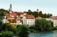 Kranj Slovenien fotografering för bildbyråer