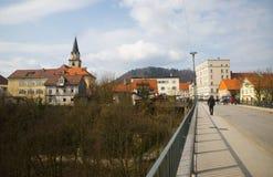 Kranj town, Slovenia Royalty Free Stock Photo