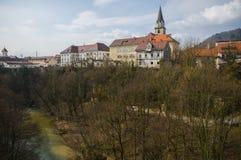 Kranj town, Slovenia Royalty Free Stock Photos