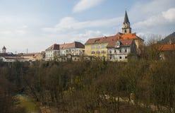 Kranj town, Slovenia Stock Images