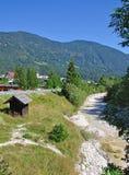 Kranjska Gora, alpi di Julian, Slovenia Fotografie Stock