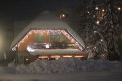 Kranjska Gora en invierno Imagen de archivo libre de regalías