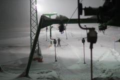 Kranjska Gora im Winter lizenzfreie stockbilder