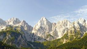 Kranjska Gora in Slovenia. Mountain View of Kranjska Gora in Slovenia stock photography