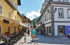 Kranjska Gora, Slovenia Fotografia Stock Libera da Diritti