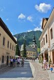 Kranjska Gora, Slovenia Fotografie Stock Libere da Diritti