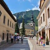 Kranjska Gora, Slovenia Immagine Stock
