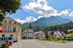 Kranjska Gora Slovenien Royaltyfri Foto