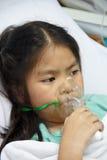 Kranke Kinder. Stockfotografie