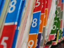 Krankenblätter. Lizenzfreie Stockbilder