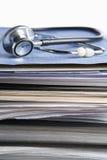 Krankenblatt Stockbilder