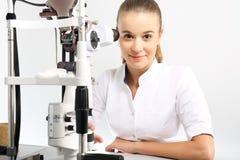 Krankenhaus-Abteilung der Augenheilkunde Lizenzfreie Stockfotos