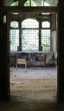 Krankenhaus in Beelitz-Heilstaetten stockbilder