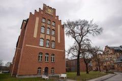 Krankenhaus Berlin Deutschland Campus Charité Mitte stockfotografie