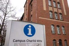 Krankenhaus Berlin Deutschland Campus Charité Mitte lizenzfreies stockbild