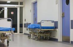 Krankenhaus-Betten Stockbild