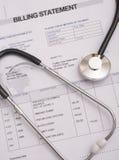Krankenhaus Bill lizenzfreie stockfotos