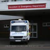 Krankenhaus-Eingang Stockfotos