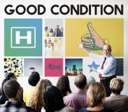 Krankenhaus-Gesundheitswesen-Behandlungs-Heilungs-Konzept Stockfotografie