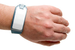 Krankenhaus Identifikation-Armband Lizenzfreie Stockbilder