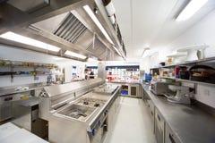 Krankenhaus-Küche Stockbild