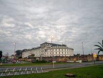 Krankenhaus Militar, La Coruna, Spanien lizenzfreies stockfoto