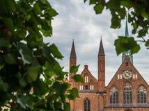 Krankenhaus von Heiliger Geist in Luebeck, Deutschland stockfoto