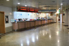 Krankenhaushalle Lizenzfreies Stockbild