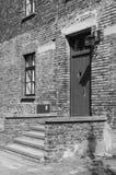 Krankenhauskaserne an Auschwitz-Konzentrationslager Lizenzfreie Stockbilder