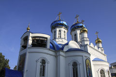 Krankenhauskirche in Krasnodar Lizenzfreie Stockfotografie