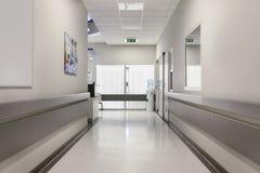 Krankenhauskorridor Lizenzfreie Stockfotos