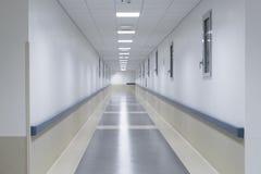 Krankenhauskorridor Stockbild