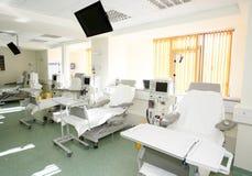 Krankenhausrauminnenraum Stockfoto