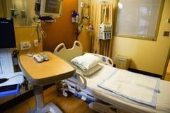 Krankenhausschlafzimmer Stockbild